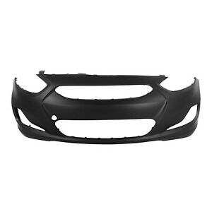 Fits Hyundai Accent 2012 2013 New Front Bumper Primed Free Shipping Hy1000188