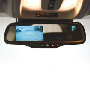 New Brandmotion Gm Onstar Mirror W 4 3 Display Compass Temperature Fltw 7696