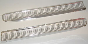 1959 Chevrolet Impala Bel Air Biscayne Hood Grill Screens New Pair