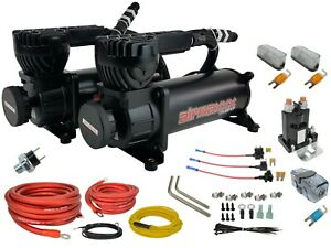 Airmaxxx Black 580 Dual Air Compressors Avs Evolve 2 Compressor Wiring Kit