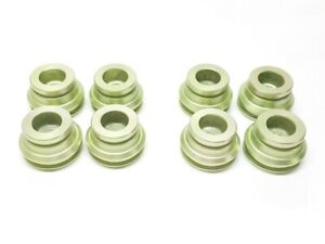 1967 82 Corvette Front Oe Disc Brake Caliper Lip Seal Pistons Set Of 8