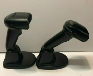 Lot 2 Honeywell Xenon 1900 Barcode Scanner High Density 1900gsr 2 usb2 Ratchet