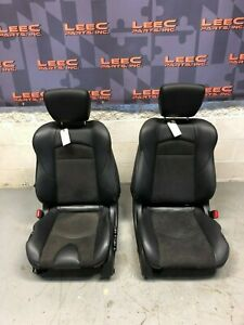 2009 Nissan 370z Oem Front Seats Black Heated