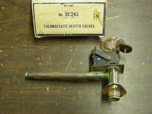 Nos 1962 1963 1964 Dodge Plymouth Heater Water Control Valve 1965 1966 Charger