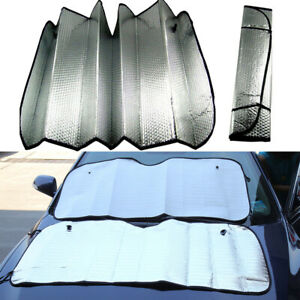 Car Windshield Sun Visor Cover Anti Uv Block Foldable Sun Shade Protector Screen