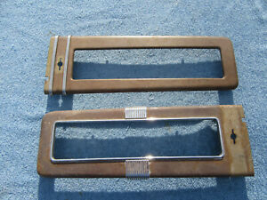 1940 Chevy Deluxe Dash Bezel Trim Moldings