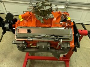 Authentic 1968 Chevy Camaro Ss Engine Matching Number Original Stamping