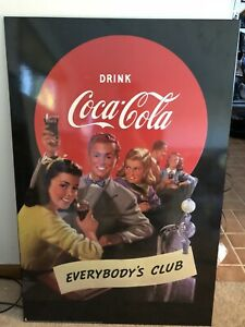 1997 Drink Coca-Cola 36X24 Everybody's Club