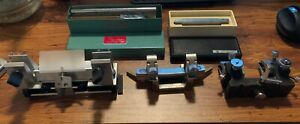Microtome Parts Lot American Optical Blade Holder Cryostat Lipshaw Ao