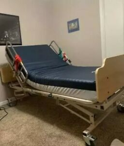 Electric Hospital Bed With Free Bariatric Mattress