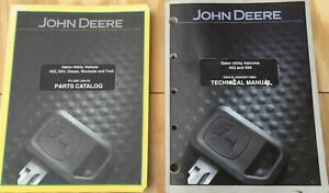 John Deere Gator 4x2 4x6 Gator Parts Catalog Pc2387 And Technical Manual Tm1518