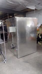 Cerakote Powder Coating Curing Oven With Roll In Cart 7ft Tall Inside Lead Time