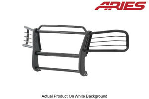 99 02 Gmc Sierra 1500 00 06 Yukon Xl 1500 Black Front Grille brush Guard Aries