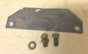 1965 1966 Other Ford Mustang 289 Engine Motor Mount Heat Shield R Or L Bolts