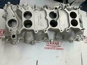 1967 Corvette 427 Intake Manifold Tri power 427 400hp 3x2 3894382 L68 Like Nos