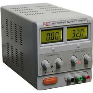 Variable Dc Lab Power Supply With Lcd Display 0 30v 0 5 Amp