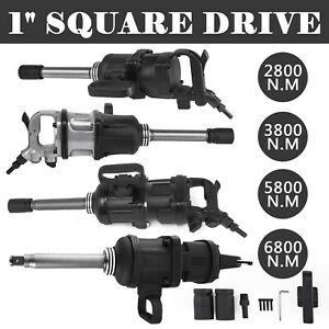1 Pneumatic Impact Wrench Air Impact Wrench 2800 3800 5800 6800n M W 8 Anvil