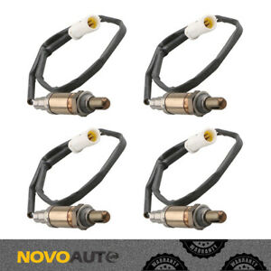 Set 4 Downstream Upstream O2 Oxygen Sensor For Ford F 150 Lincoln Town Car