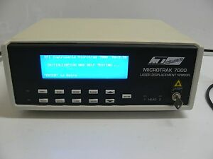Mti Instruments Microtrak 7000 Laser Displacement Sensor