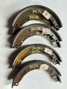 1932 1934 Ford Brake Shoes Set Of 4 Shoes 2 Wheels fits Front Or Rear b2019