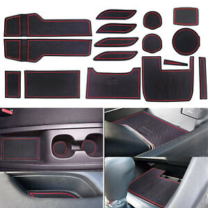For Honda Civic 2016 2020 Cup Door And Center Console Liner Accessories Gen10