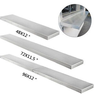 4 6 8 Foot Shelf For Concession Window Food Folding Truck Accessories Business
