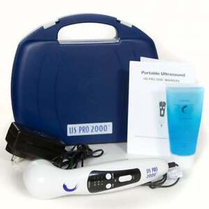 Us Pro 2000 Pro Ultrasound Portable Therapy Unit Complete With Ultrasound Gel