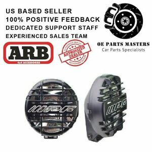 Arb With Grille Guards ipf 968 Series Housing Spot driving Beam Lights 968csg