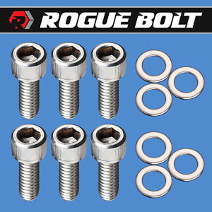 Mopar Big Block Valley Cover Bolts Stainless Kit Bbm 383 400 413 426w 440 R Rb
