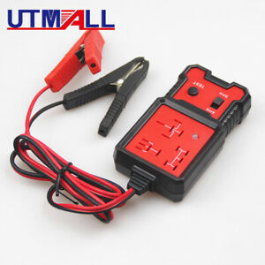 Universal 12v Cars Relay Tester Relay Testing Tool Auto Battery Checker Accurate