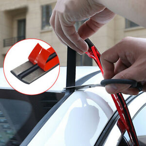 Car Windshield Roof Seal Noise Insulation Rubber Strip Sticker Car Accessories