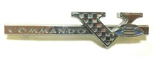 1965 1966 Plymouth Fury Satellite Valiant Front Fender Emblem