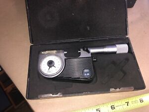 Mahr Indicating Micrometer 0 25 Millimar Excellent