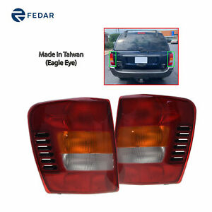 Replacement Tail Light Fit 1999 2004 Jeep Grand Cherokee Pair
