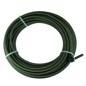 5 16 In X 50 Ft Slotted end Replacement Cable Drain Auger Snake Plumbing New