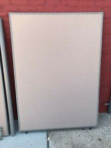 Office Depot Bush Partition Walls 5ft W X 66 Tall Space Dividers harvest Tan