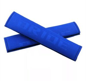 Bride Blue Gradation Seat Belt Cover Shoulder Pads Fabric Racing Seat Material