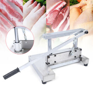 Manual Meat Bone Cutting Band Saw Machine Cut Bone Meat Saws Sawing Machine