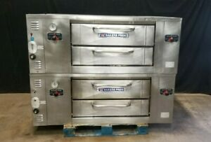 Bakers Pride Double Stack Pizza Oven