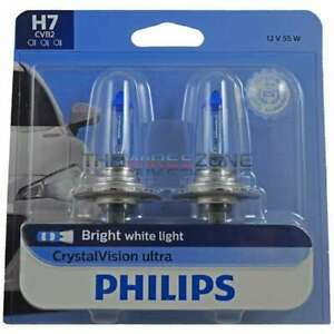 Philips 12972cvb2 Crystalvision Ultra Headlight H7 Pack Of 2