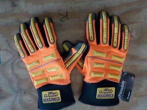 Global Glove Sg9999 Vise Gripster Roughneck Glove Work Medium