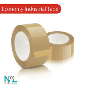 1 36 X Rolls 55 Yards Classic Packaging Tape 2 0 Mil X Brown tan Color