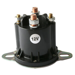 Solenoid Relay For Western Boss Snow Plow Round Hyd01633 56131 56134 42902