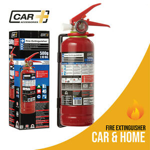 Fire Extinguisher Dry Chemical Powder Safety Portable Emergency Car Home 1 1 Lb
