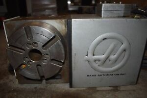 Haas Automation Hrt160 4th Axis Rotary Table Indexer Sn 161944