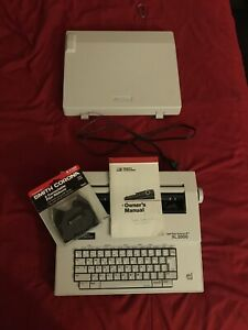 Smith Corona Spell Right Dictionary Xl 2000 Typewriter Works Tested With Manual