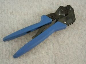 Tyco Pro crimper Iii Hand Crimping Tool Crimper 20 28 Awg Good Condition