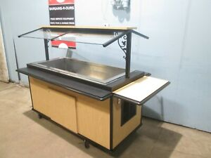 delfield Hd Commercial Refrigerated Lighted Cold Food salad Bar olive Bar