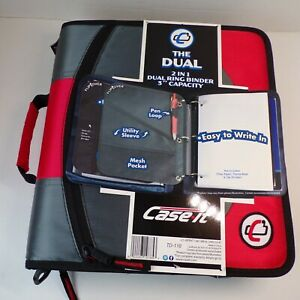 Dual Ring Binder 3 Capacity By Case It The Dual 2 In 1 Binder