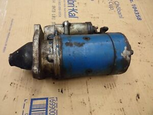 Starter Ford Tractor Farm 3550 3600 3610 3900 3910 4100 4110 4140 4200